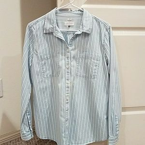 Loft  button down shirt
